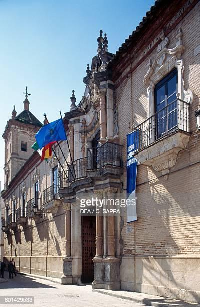 Facade of Benameji palace, Ecija, Andalusia. Spain, 18th century.