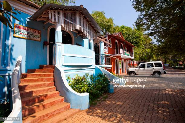 Facade of Big Foot Museum Loutolim Salcetta South Goa Goa India