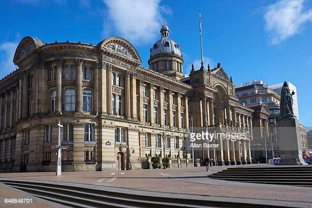 facade of birmingham council house - birmingham england stock pictures, royalty-free photos & images