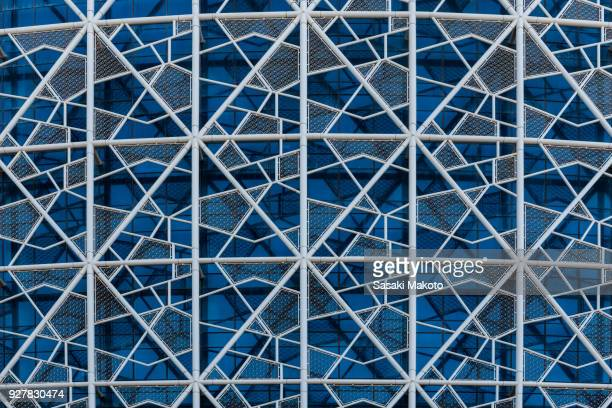 facade of building - doha stock pictures, royalty-free photos & images