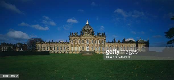 Facade of Castle Howard by John Vanbrugh near York North Yorkshire England 17th18th century
