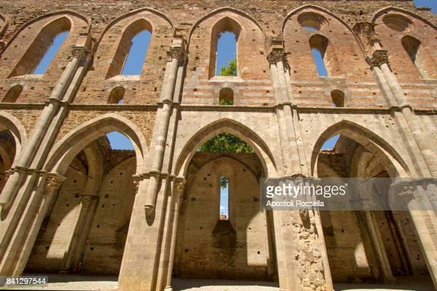 facade of Cathedral of San Galgano