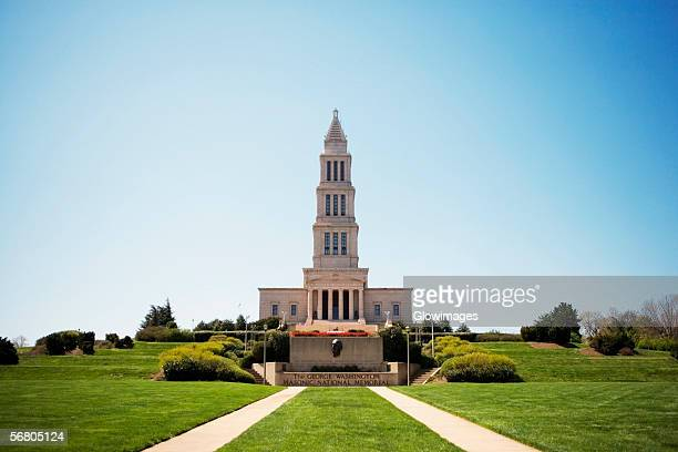 Facade of George Washington Masonic National Memorial, Alexandria, Virginia, USA
