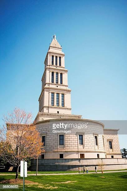 Facade of George Washington Masonic National Memorial, Alexandria, Virginia, USA