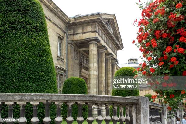 facade of historic building, reims, champagne-ardenne, france, europe - reims stock pictures, royalty-free photos & images