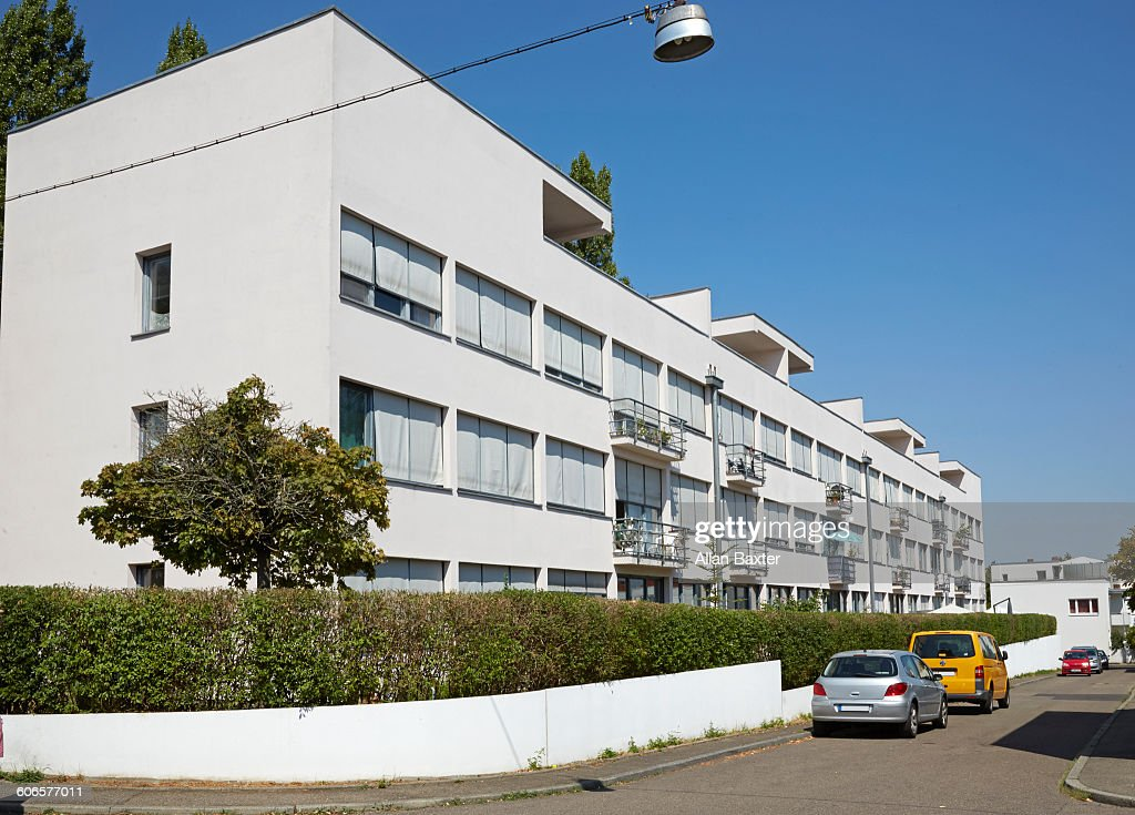 Facade Of Mies Van Der Rohe Bauhaus Apartments Stock Photo Getty