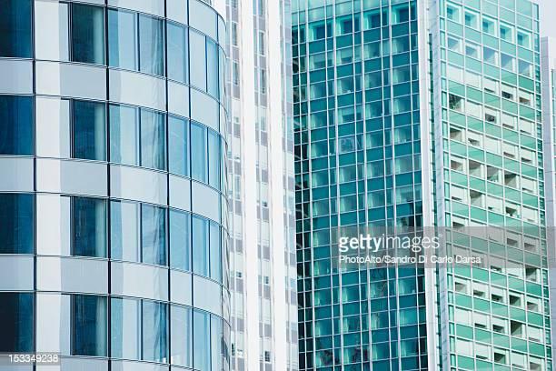 Facade of modern office buildings