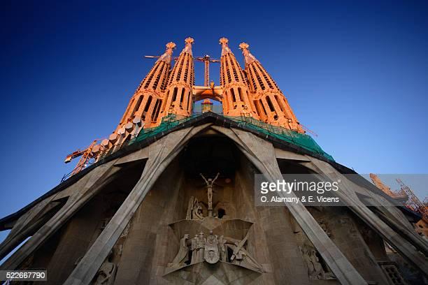 Facade of Sagrada Familia