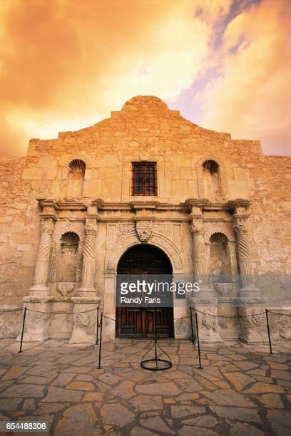Facade of The Alamo