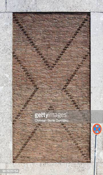 facade of the brewery löwenbräu, munich - christian beirle stock pictures, royalty-free photos & images