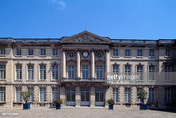 Facade of the Chateau de Compiegne facing onto the honour courtyard, 1751-1789, Picardy. France, 18th century.