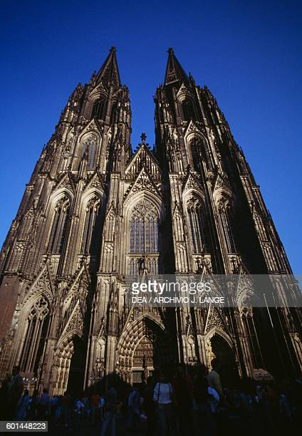 Facade of the Cologne Cathedral 12481880 North RhineWestphalia Germany 13th19th century
