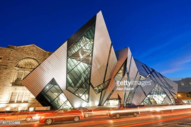 Facade of the Crystal extension to the Royal Ontario museum