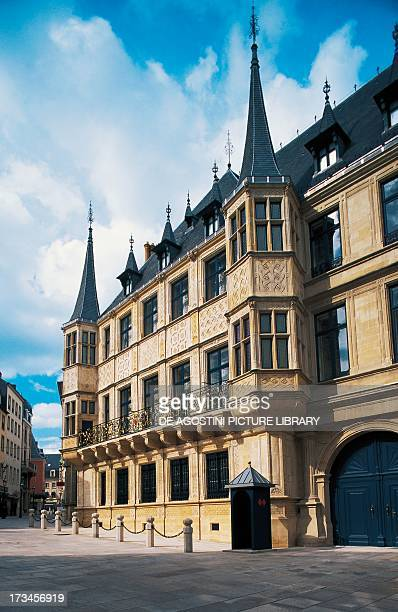 Facade of the Grand Ducal Palace , Luxembourg City, Luxembourg.