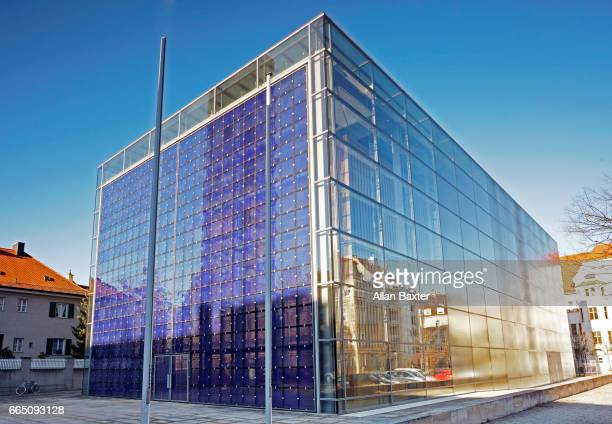 facade of the modern 'herz jesu kirche' in munich - 2000 2009 stock pictures, royalty-free photos & images