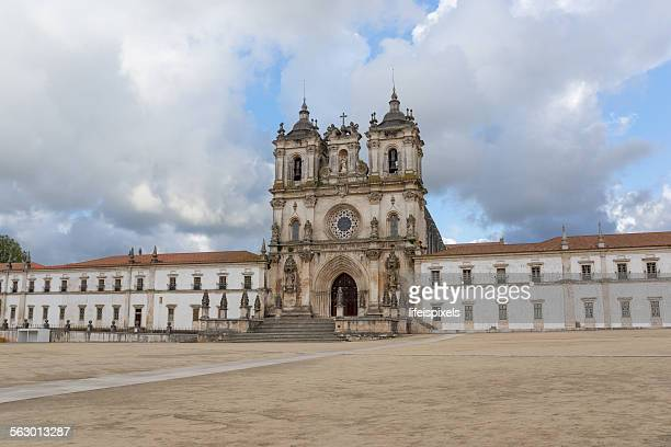 facade of the monastery of alcobaca - lifeispixels stock pictures, royalty-free photos & images