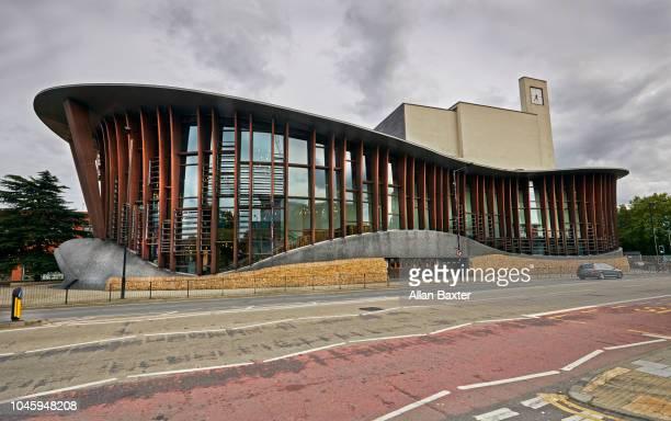 Facade of the new 'Aylesbury Waterside Theatre'