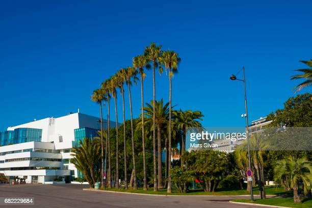 Facade of the Palais des Festivals Cannes