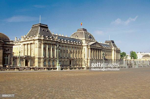 Facade of the Royal Palace, Brussels, Belgium
