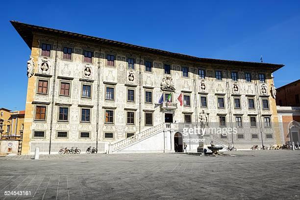 Facade of the Scuola Normale Superiore, Pisa, Italy