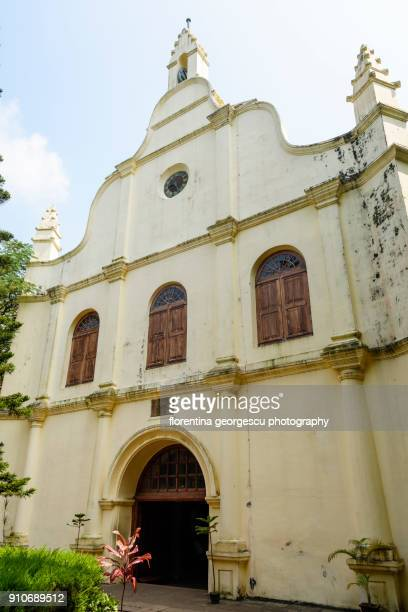 Facade of the St. Francis Church, Kochi, Kerala, India