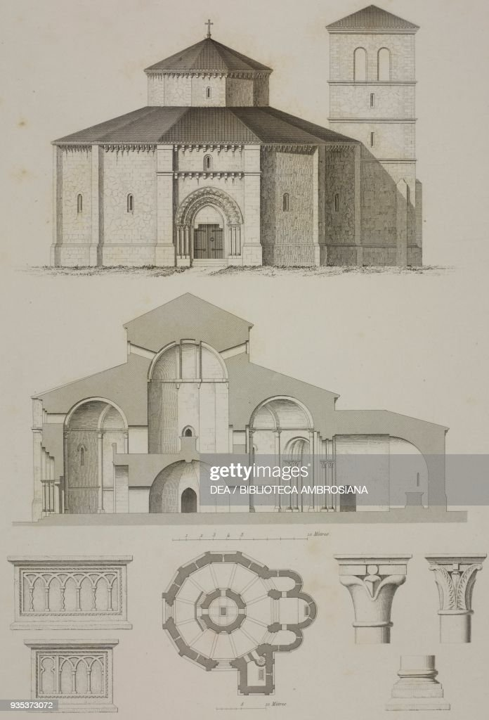 facade floor plan church of the templars pictures getty images