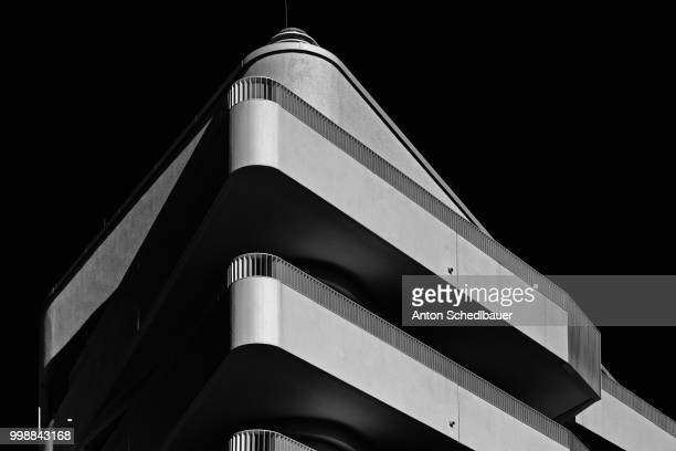 facade study ll - anton schedlbauer stock pictures, royalty-free photos & images