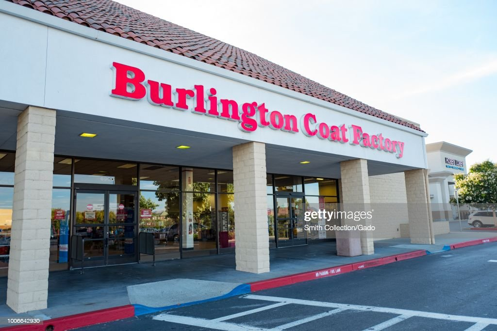Facade With Sign And Logo At Burlington Coat Factory Clothing