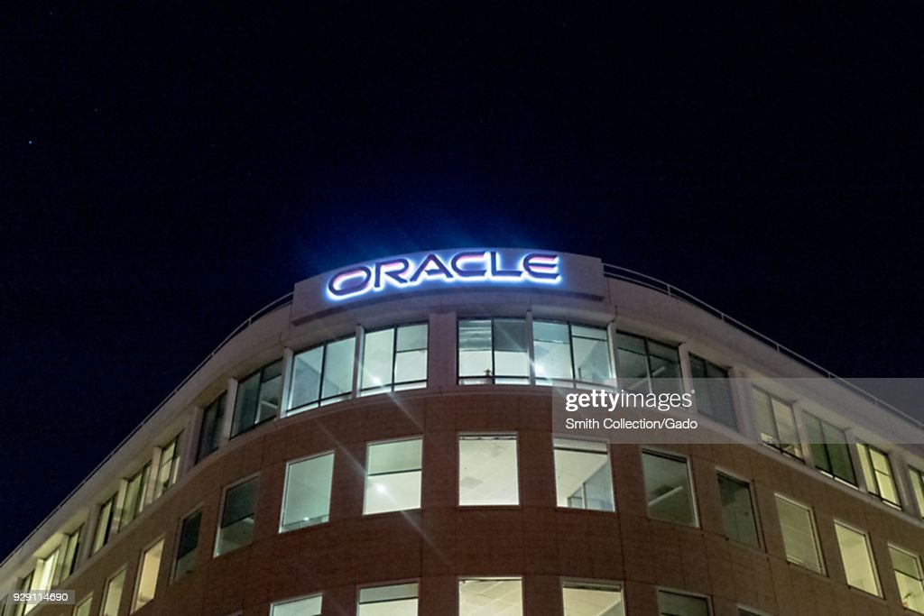 Oracle At Night : News Photo
