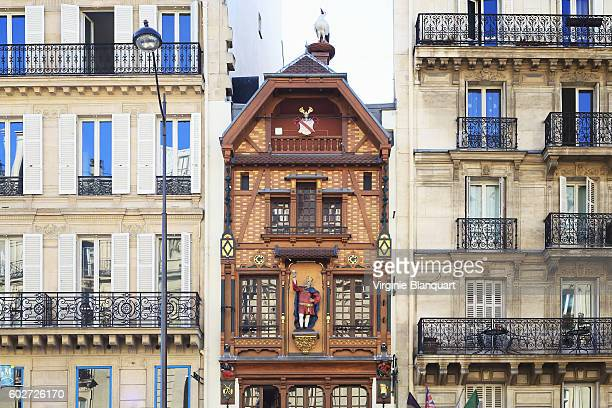 Facades of Paris