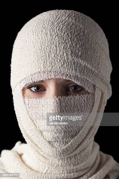 Face Hidden By Bandages