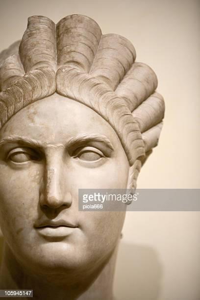 Face of a roman woman