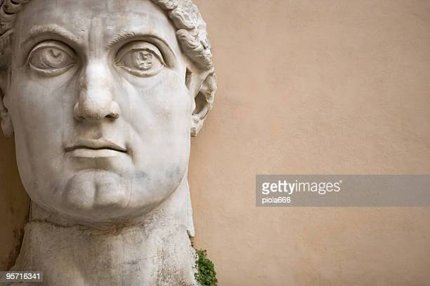 Face of the Emperor Constantine