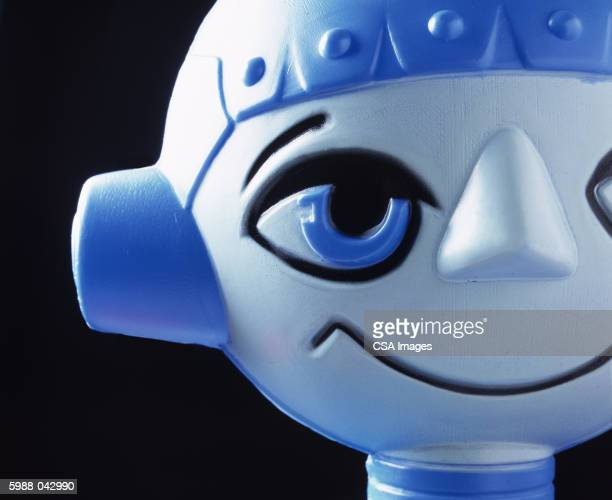 Face of Toy Robot