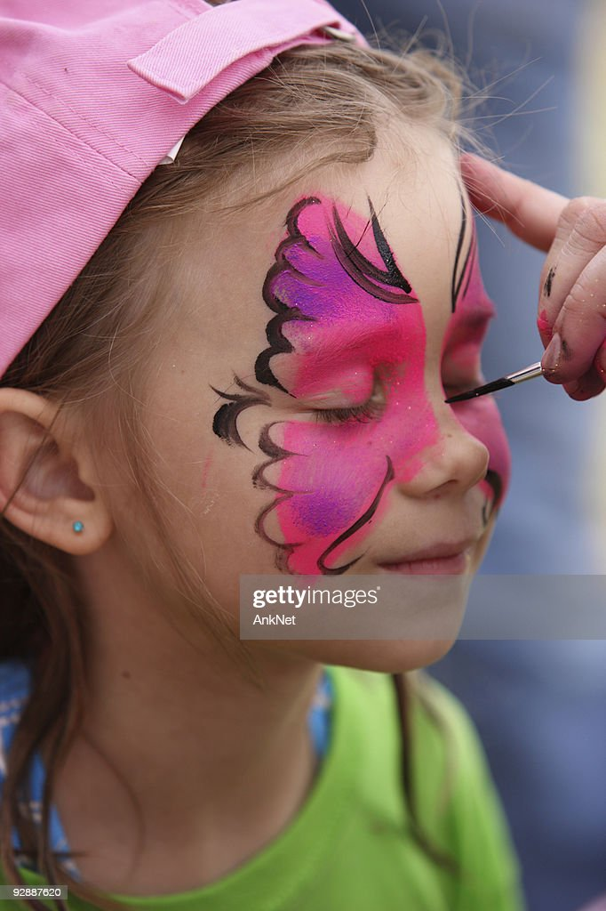 face paint stock photos and pictures getty images