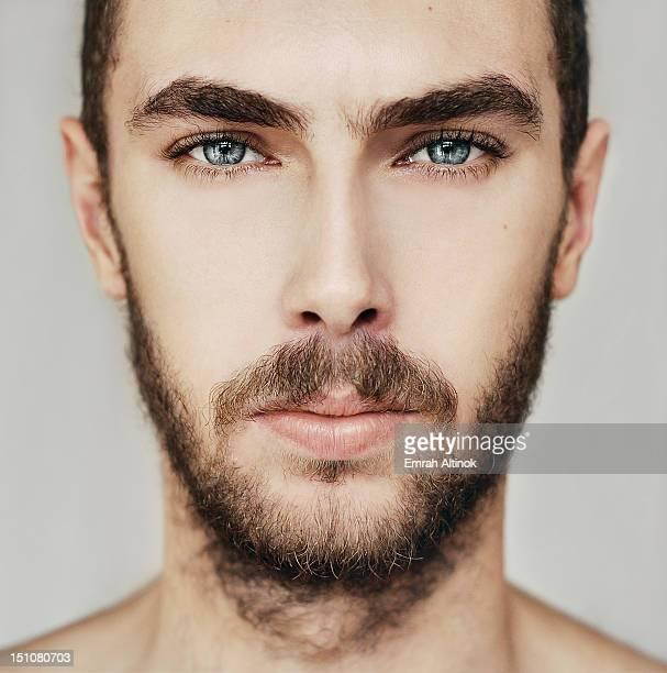 face - occhi azzurri foto e immagini stock