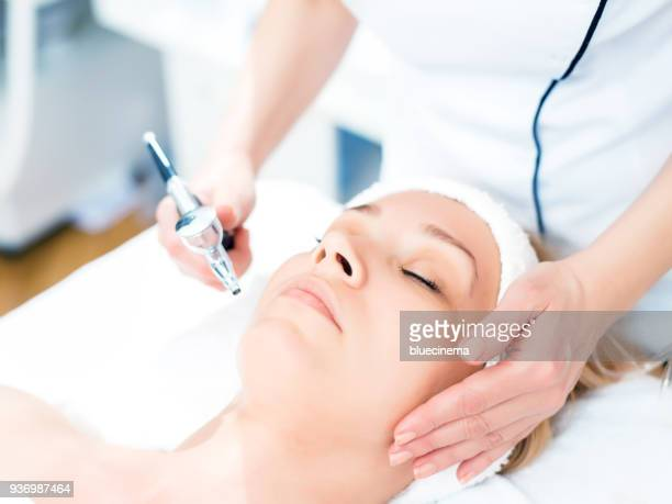 face treatment - plastic surgery stock pictures, royalty-free photos & images