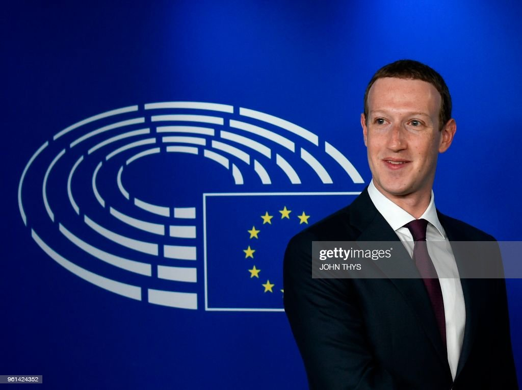 BELGIUM-EU-FACEBOOK-DATA : News Photo