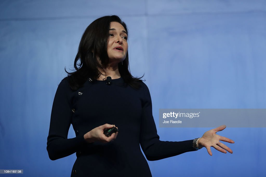 Sheryl Sandberg Attends Facebook Community Boost Event in Miami : News Photo