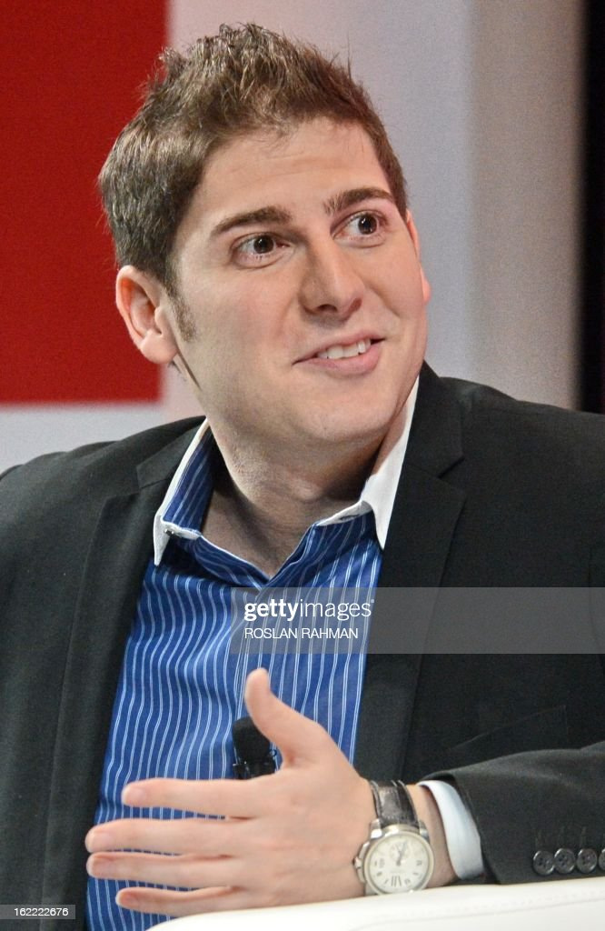 Facebook co-founder Eduardo Saverin speaks during the Wall Street Journal Unleashing Innovation executive conference held at Capella Singapore, Sentosa Island in Singapore on February 21, 2013. The Singapore-based billionaire said Facebook would be a 'tough act' to follow but he wants to have a 'positive impact' on the world as an investor.