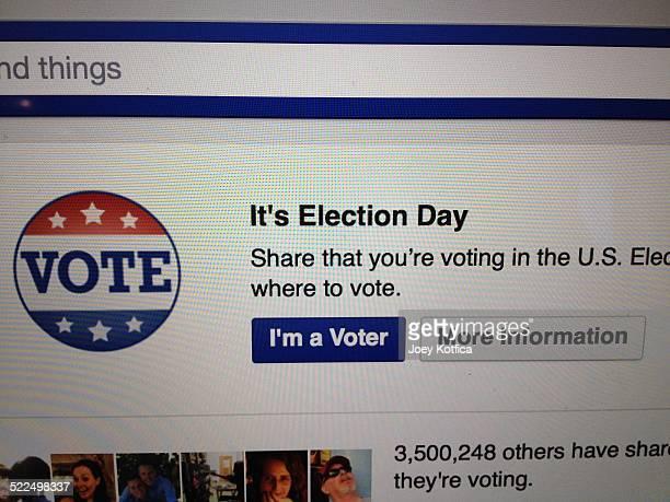 Facebook Election Day badge