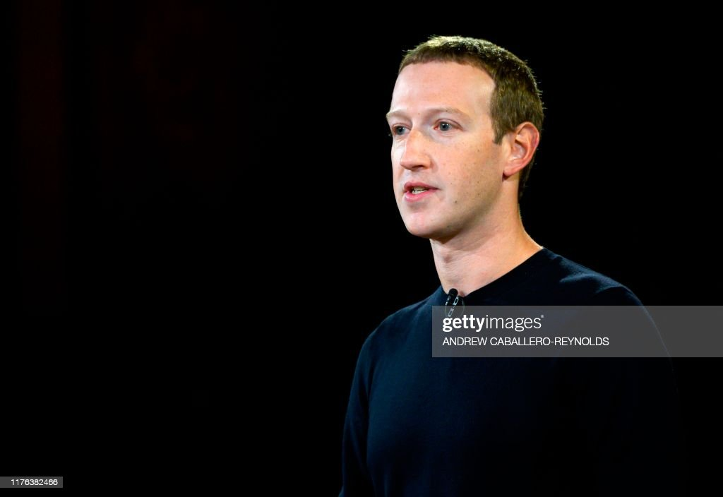 US-internet-FACEBOOK-ZUCKERBERG : News Photo