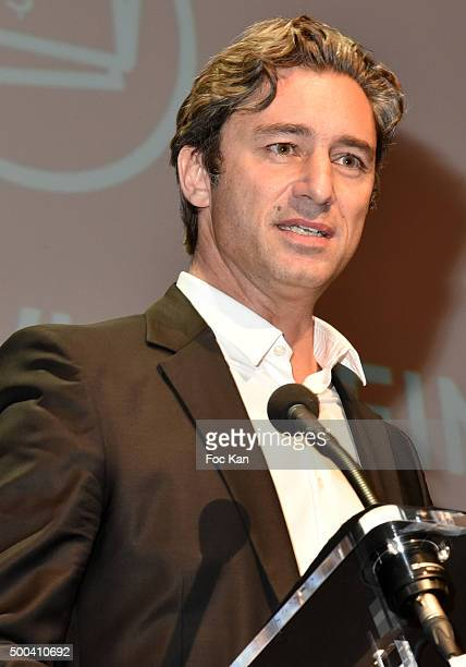 Facebook France director Laurent Solly attends the 'Positive Awards' Ceremony at La Gaiete Lyrique on December 7 2015 in Paris France