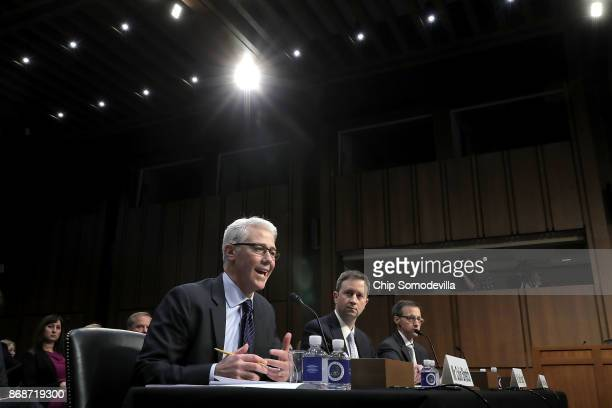 Facebook General Counsel Colin Stretch Twitter Acting General Counsel Sean Edgett and Google Law Enforcement and Information Security Director...