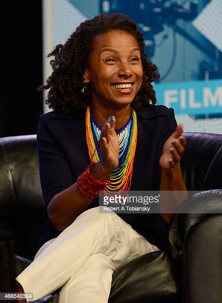 Facebook Global Director of Diversity Maxine Williams speaks onstage at '#YesWeCode From The 'Hood To Silicon Valley' during the 2015 SXSW Music Film...