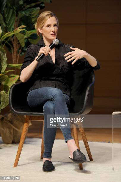 Facebook Global Head of Safety Director Antigone Davis speaks onstage during the Teen Vogue Summit 2018 #TurnUp Day 1 at The New School on June 1...