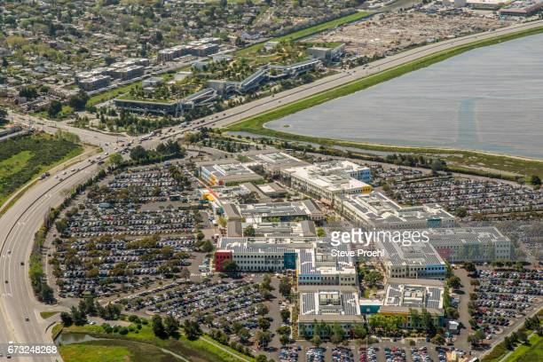 facebook headquarters - san mateo county stock pictures, royalty-free photos & images