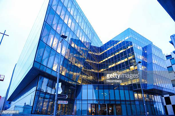 Facebook Inc's European headquarters stands in the Dublin dockland development in Dublin Ireland on Tuesday Feb 9 2016 Low corporate taxes are the...