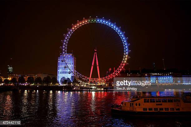 Facebook lights up the London Eye with the nation's general election conversations On Election Day the London Eye shows discussion of the main...