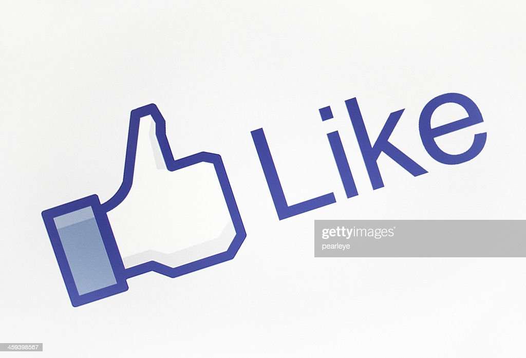 Facebook Like icon : Stock Photo